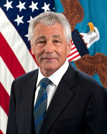 File Official photo Chuck Hagel