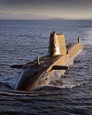 File Astute-class submarine: Photo CCL