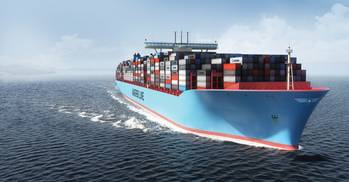 File Triple-E Class Container Ship: Image courtesy of Maersk