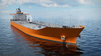 File Wärtsilä's New Aframax Tanker Design  emphasizes energy efficiency. It features an optimized hull form to minimize resistance, and an optimized propulsion train with energy saving devices (ESDs) for greater efficiency. Fuel savings have been the primary focus during the development of this design..