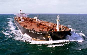 File The Algeciras Spirit, one of Teekay LNG's Suezmax tankers is able to carry approximately 1 million barrels of oil. (Photo: Teekay)