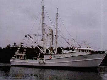 File Fishing vessel Poncho at its moorings on Vermillion Bay in Morgan City. (Photo provided by Marine Ventures Inc.)
