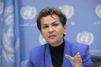 File Christiana Figueres, Executive Secretary of the United Nations Framework Convention on Climate Change (UNFCCC), is stepping down. (Photo: UN Photo/Sarah Fretwell)