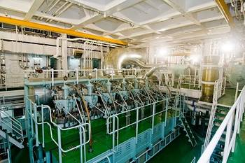 File RT-flex58T, version D engine in the engine room of MV Shansi