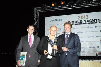 File Award presentation in Monaco: Photo courtesy of Oceanco
