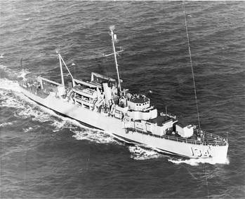 File USS Kleinsmith (APD-134). U.S. Navy photo