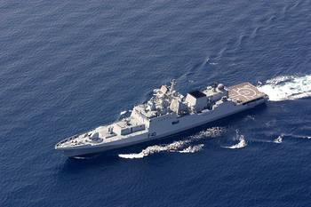 File INS Talwar-class Frigate: Photo credit Wiki CCL