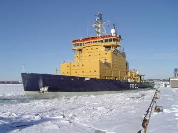 File Arctic Icebreaker: Photo credit Marcusroos Free GNU License