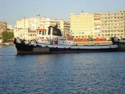 File Tugboat: Photo credit Wiki CCL Georgios Pazios