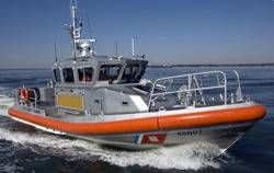 File USCG Response Boat: Photo credit USCG