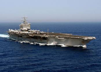 File USS Enterprise (CVN-65). U.S. Navy photo by Photographer