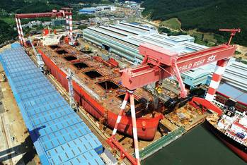 File    The Dry Bulk Market has been the posterchild for too much tonnage. Pictured is Vale Beijing, courtesy of STX.