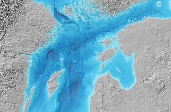 File Photo: Baltic Sea Bathymetry Database