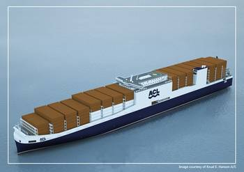 File G4 RoRo Containership: Image credit ACL