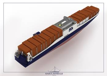 File Depicted: new RoRo/Container (CONRO) vessels.