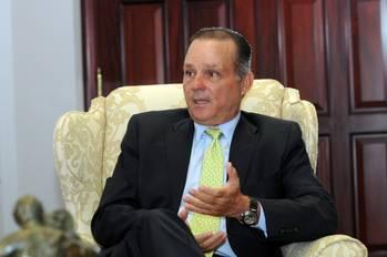 File CEO of the Panama Canal Authority, Alberto Alemán Zubieta