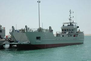 File A landing craft similar to those to be built for the Bahrain Navy.