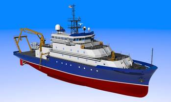 File Depicted: AGOR-27 advanced oceanographic rsearch vessel.