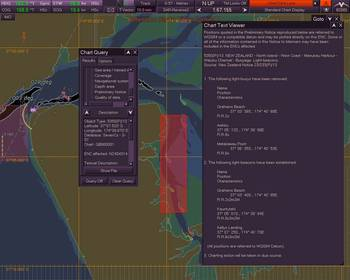 File AIO-compatible ECDIS shown in operation off the coast of New Zealand (Image courtesy of Northrop Grumman)