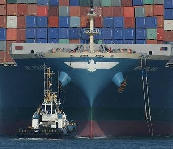 File APL Container Ship: Photo credit Geo Swan CCL2