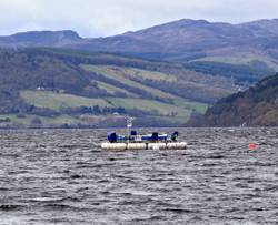 File Pictured is the AWS-III wave energy test device deployed in Scotland's Loch Ness.