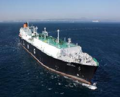 File * Photo: Abdelkader, LNG Carrier Hyundai Heavy built and selected as one of the world's best ships in 2010.