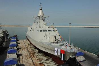 File 'Mezyad' is the fourth vessel of Baynunah Corvette Class Program for UAE Navy.