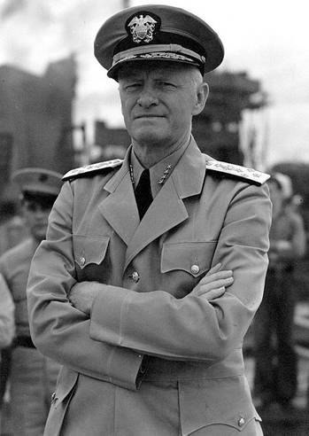 File Admiral Chester W. Nimitz (Official U.S. Navy Photograph, National Archives)