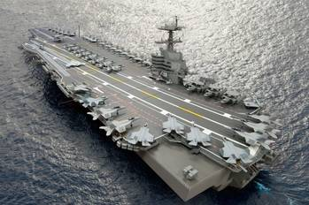 File CVN 79: Image courtesy of NNS