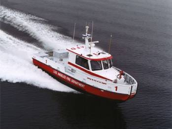 File A Jensen-designed fireboat: Photo courtesy of Jensen