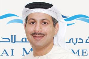 File Ali Al Daboos, Deputy CEO of Dubai Maritime City Authority