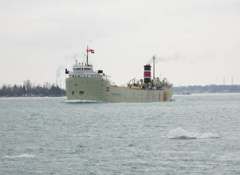File SS Alpena: Photo credit Great Lakes Shipyard