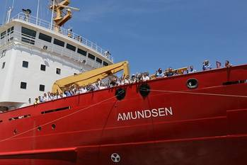 File CCGS Amundsen: Photo courtesy of Canadian Coast Guard