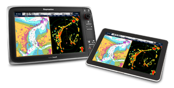 File An Android Tablet group (Photo: Raymarine).