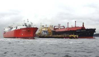 File Angolan LNG arrival: Photo credit Angola LNG
