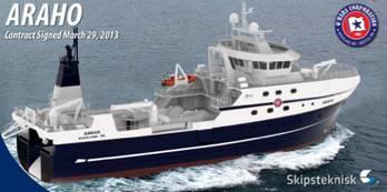 File Trawler Design ST-115: Image credit Eastern Shipbuilding