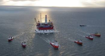 File Arctic Drillship: Photo credit Gazprom