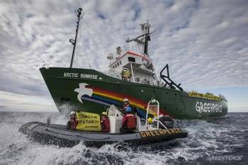 File MV Arctic Sunrise: Image credit Greenpeace