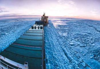 File Arctic scene: Photo courtesy of UK Govt.