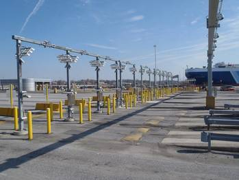 File Peel Ports have awarded a £5.5 million contract to Kalmar Global and APS Technology to install smart AutoGates technology at its £300m deep-water expansion project at the Port of Liverpool (example Baltimore)
