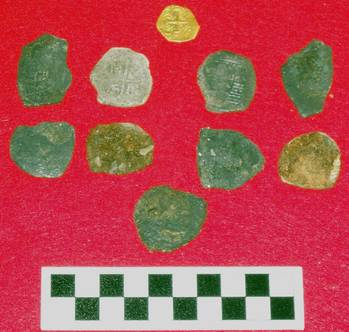 File Treasures found by BWVI from 1715 Shipwreck