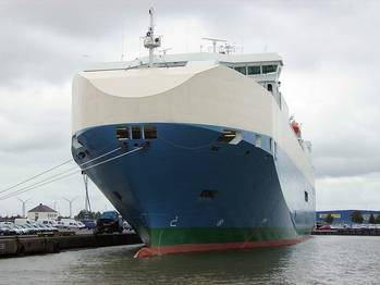 File RoRo Baltic Ace: Photo credit Wiki CCL 2