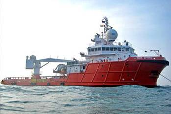 File Bibby Offshore's NOR Spring (Photo: Bibby Offshore).