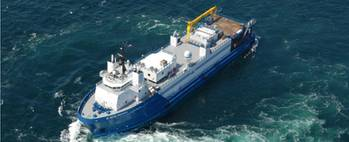 File Similar well-stimulation vessel: Photo credit Baker Hughes