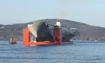 File HMAS Adelaide hull: Image credit RAN