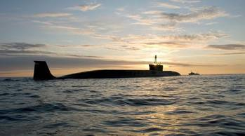 File Borey-class submarine: Photo courtesy of Sevmash Shipyard