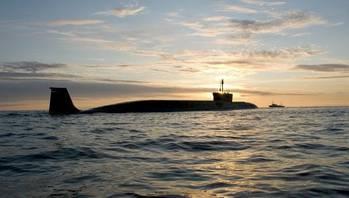 File Borey-class submarine: Photo courtesy of USC