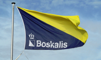 File Company flag courtesy of Boskalis