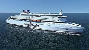 File Rendering of the new ferry credit Brittany Ferries