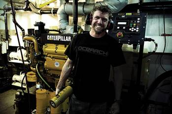 File Photo: Caterpillar Marine Power Systems